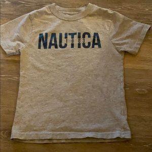 Nautica boys shirt size 5/6